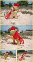 Applebloom Woodwork IV by xofox