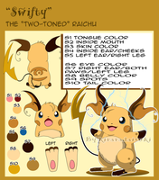 C.E. ::Swifty:: the Raichu by kiraradaisuki
