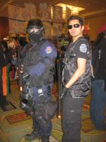 Anime Vegas Resident Evil RPD SWAT and BSAA by Demon-Lord-Cosplay