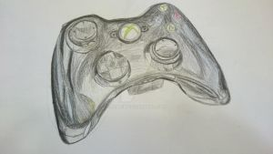 Xbox Controller (unfinished) by Reanik