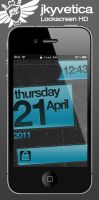 jkyvetica-Lockscreen Theme HD by jkypow