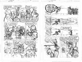 DCUElementary: pgs 10-11_STORY by tombancroft