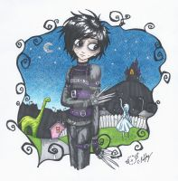 Edward Scissorhands by erondagirl
