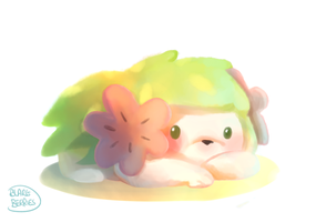 Shaymin by blargberries