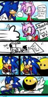 Sonic and PacMan Comic by Omiza