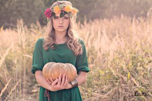 autumn fairy by LisbethPhotography
