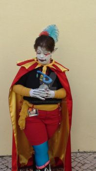 Kefka Palazzo  Cosplay  Dissidia 9 by Candy2012