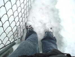 Snow chucks by luci-filth
