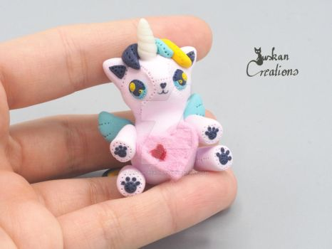 Plushie Caticorn by JuskanCreations