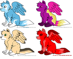free dog adopts (Moon11450-Adoptables picks first) by QuilTehKittyCat