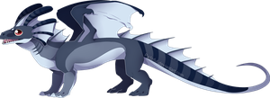 What a weird looking lizard by Pa1nful