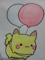 Pika Pika xD by Painter-One