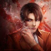 Captain Levi Ackerman (v.2) by Suixere