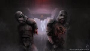Undead Troopers by DarthTemoc