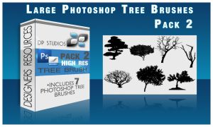 7 PS Tree Brushes by DigitalPhenom