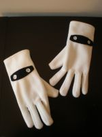 Super Mario Blooper Gloves by Omonomopoeia