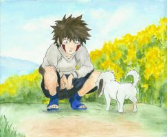 Kiba's New Friend by Rora-chan7