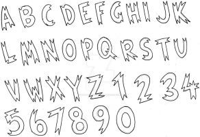 Idea for TOTAL CONQUEST Font by AmpleDeviant