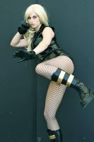 Black Canary Cosplay 3 by Meagan-Marie