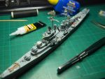 USS San Diego CL-53 and lot of scrap details by rihosk
