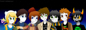 Fandomstuck by Melshow