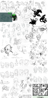 Sketchdump 2 by Twisted-Existence