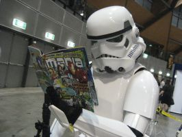 ID: A Storm Trooper's fav mag by tface