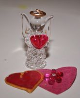 valentines glass angel by ingeline-art
