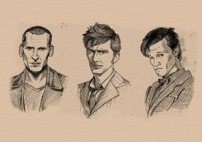 Doctor Who, Regenerations by MrStevenRichter
