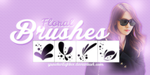 Floral Brushes (Free) by yssietwilighter