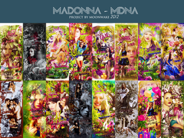 MADONNA - MDNA(DELUXE) PROJECT!!! by m00nwake