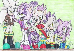 :AFS: Silvaze family by Sonicemma