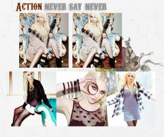 +Action Never say never by cyruscrazystyle