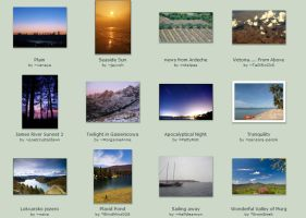 April submissions: 20th-22nd by Scapes-club