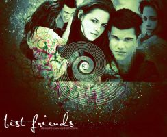 best friends kstew and lautner by dimo95