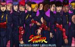 Street Fighter - Dolls Army Challengers wallpaper by Ganassa
