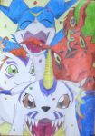 Digimon Party by ShadowofChaos666
