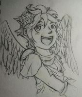 Kid Icarus: Pit sketch by Xybur7