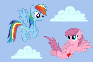 Up In The Clouds by SkiffyKitten
