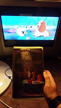 My VHS Collection 25: Lady And The Tramp Widescree by Scamp4553