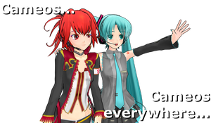 .:MMD:. They're Everywhere by Miku-Nyan02