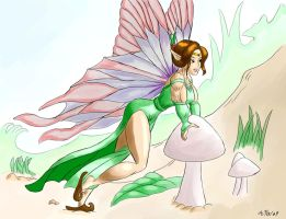 Not the Average Fairy by ArchangelDreadnought