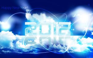 Happy new year 2012 by yacine29