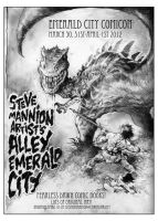Emerald City Comicon Promo for Mannion by rattlesnapper