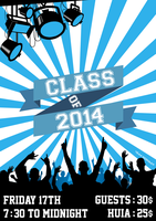 Huia Residence - Class of 2014 poster by hrniemand