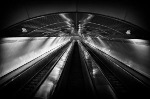 The future now BW by Blackfilm