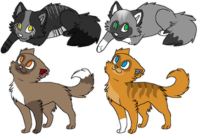 Mudface X Riverfur Kits by SkylarCat