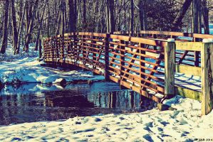 Winter Bridge by JDM4CHRIST