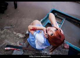 When They Cry - Higurashi     Reina Cosplay  by eefai