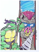Donatello by MichaelOdomArt